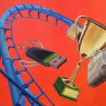 Climax<br>Oil on Canvas<br>120x80<br>2016