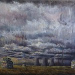 The Guard<br>Oil on Canvas<br>110x160cm<br>2011