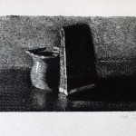 Still life <br>30 x 42 <br> Monotype <br> 2014