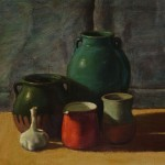 Still life <br> 50 x 65 <br> Oil on Canvas <br> 2014